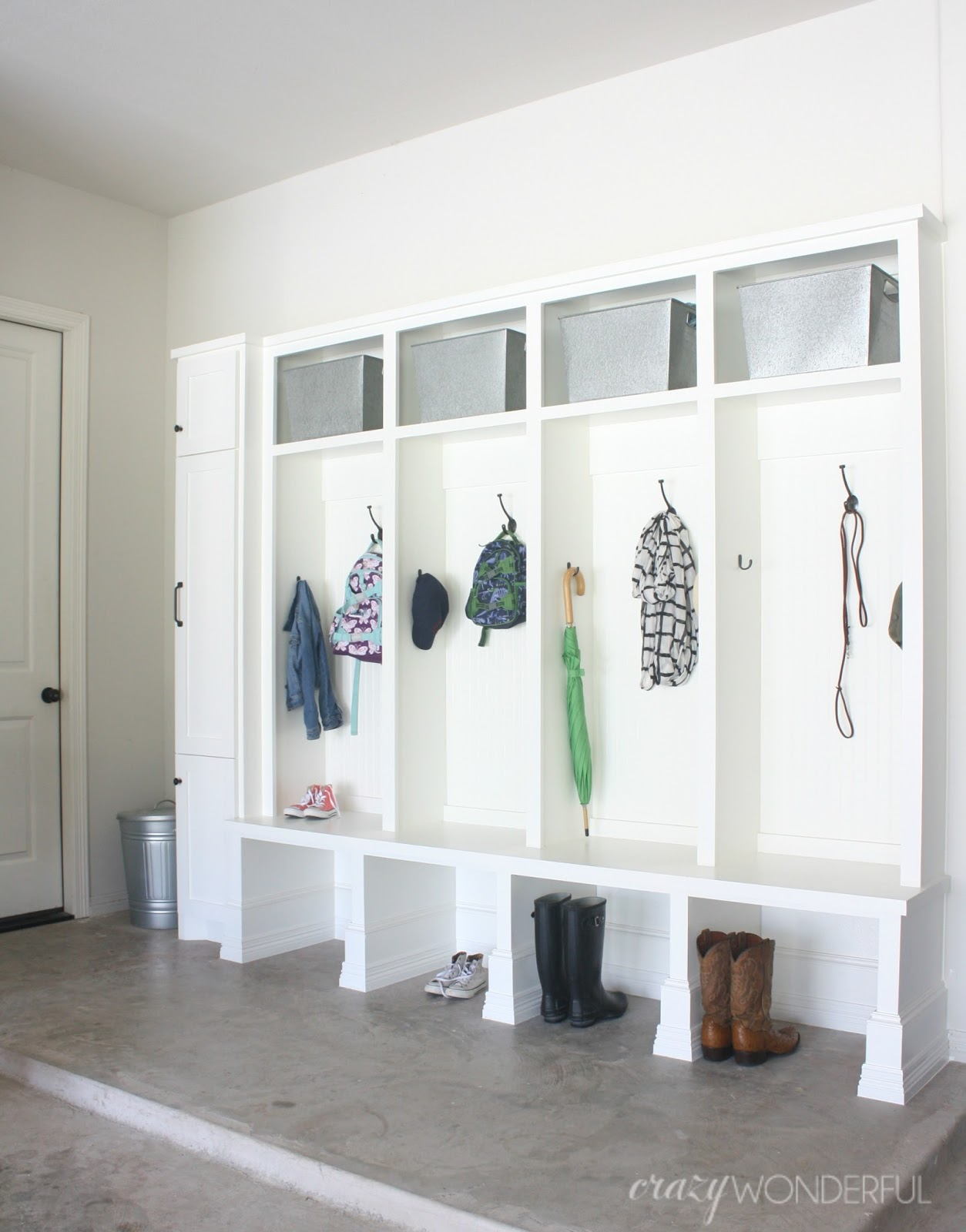Garage Mudroom Reveal
