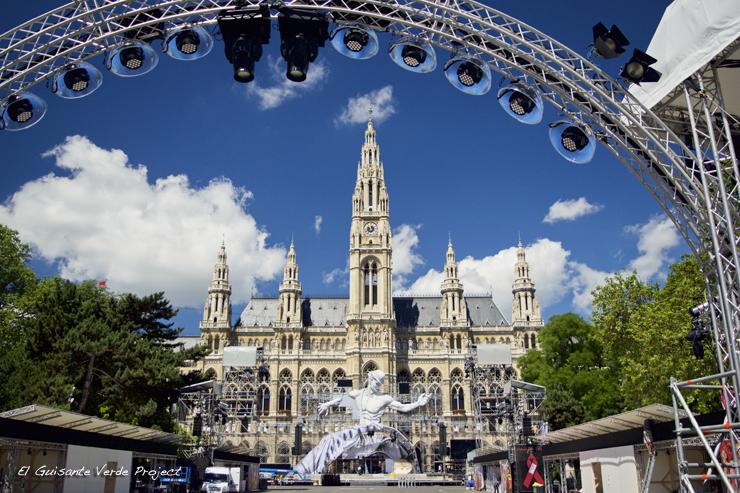 Ayuntamiento de Viena - Wiener Rathaus por El Guisante Verde Project