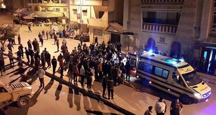 مصر : الإسعاف نقلت 8 جثث لشهداء كمين العريش للمستشفى العسكرى