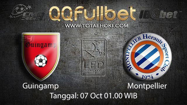 Prediksi Bola Jitu Guingamp vs Montpellier 07 Oktober 2018 ( French Ligue 1 )