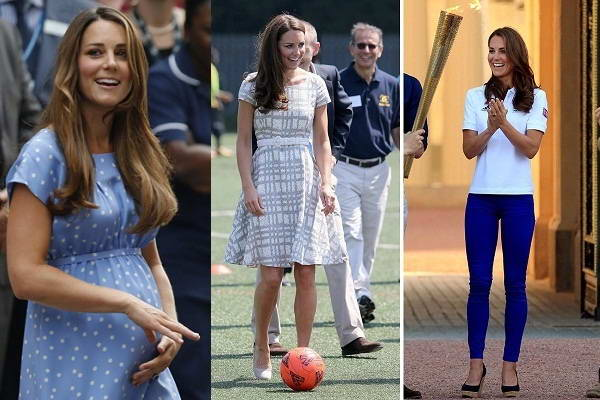 Thực đơn giảm cân sau sinh của công nương Kate Middleton