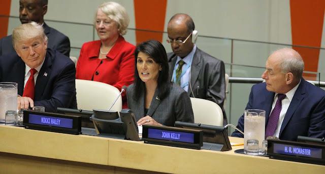 """EEUU califica al gobierno bolivariano en reunión en la ONU como """"amenaza al mundo"""""""