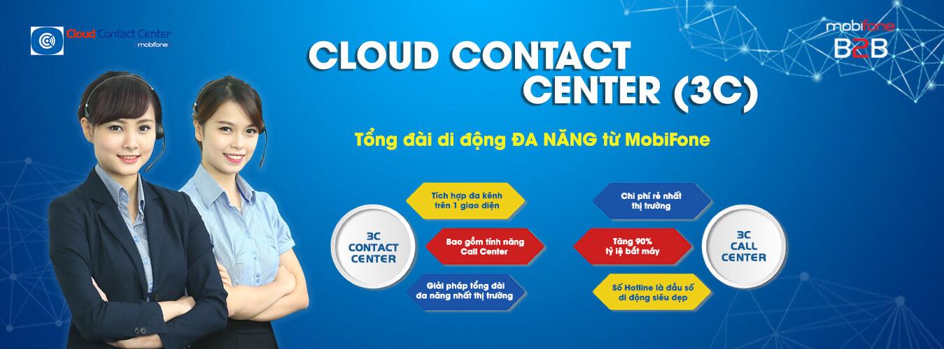 Giải pháp 3C (Cloud Contact Center)