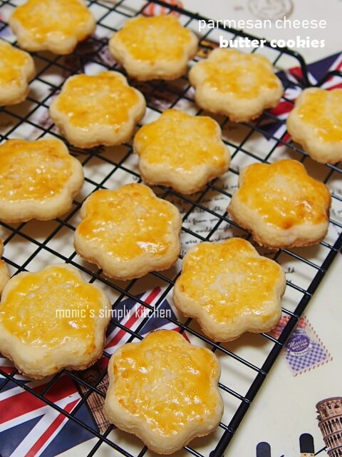resep parmesan cheese butter cookies