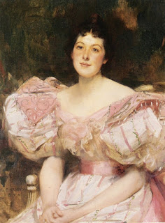 James Jebusa Shannon - Portrait Of A Lady