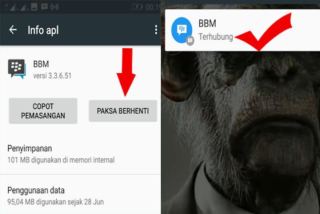 Solusi BBM di Android sering Menyambungkan mudah dan simpel