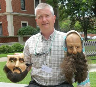 Deaf evangelist uses pantomime!