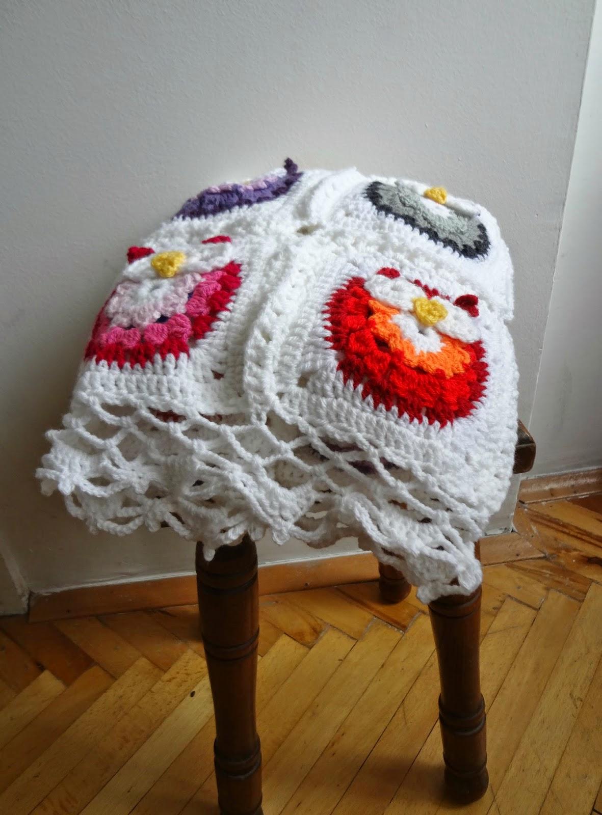 Little Treasures Crochet Owl Blanket Pattern