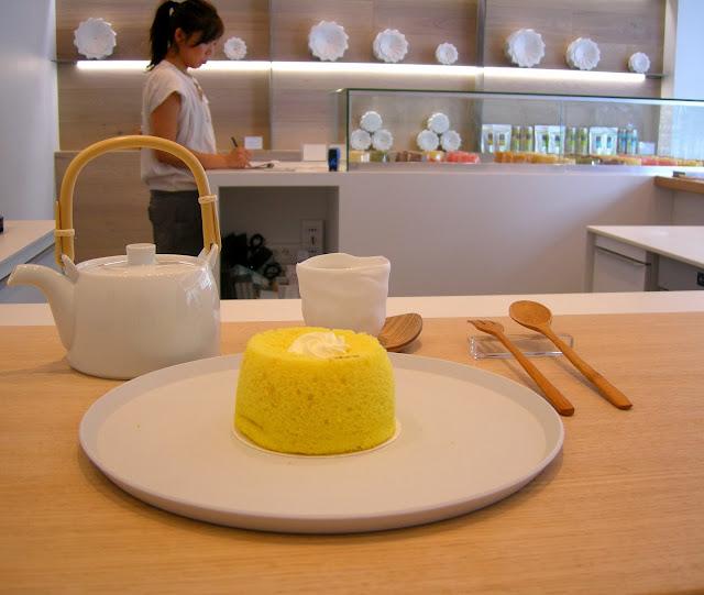 Cake Matcha Sans Beurre