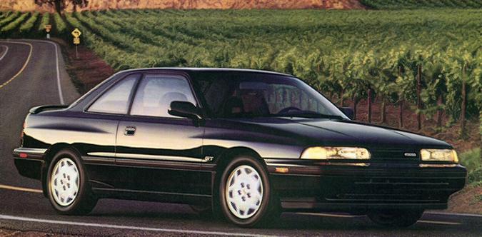 The 1988 1992 Mazda Mx6 Gt