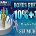 SARANA99 - BONUS REFERRAL 10% + 10%