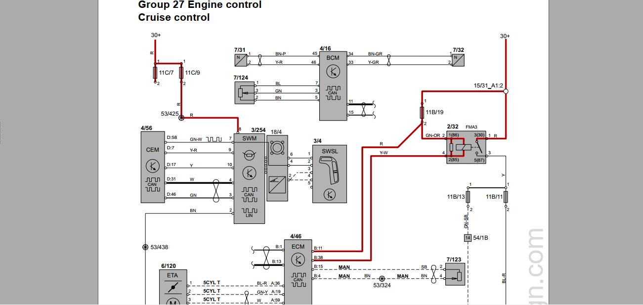 Volvo S60s60r 2007 Wiring Diagram