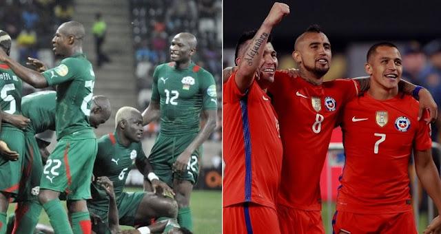 Chile vs Burkina Faso en vivo