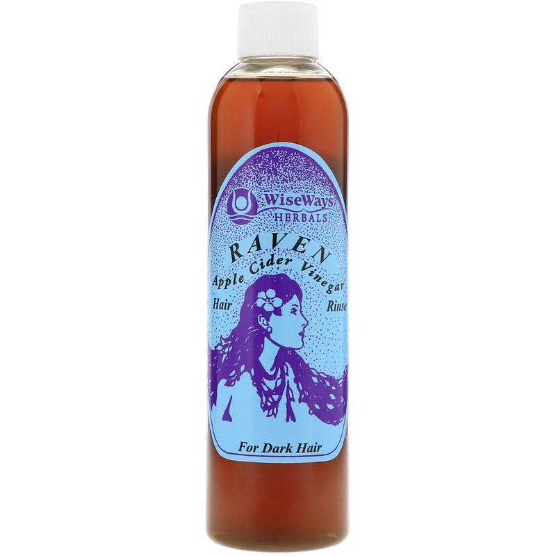 http://www.iherb.com/pr/WiseWays-Herbals-LLC-Raven-Apple-Cider-Vinegar-Hair-Rinse-For-Dark-Hair-8-oz-236-ml/27559?rcode=wnt909