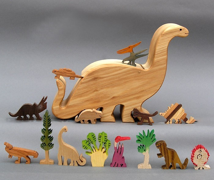 Love in the Time of Chasmosaurs: Gunther Keil's Wooden Dinosaur Toys