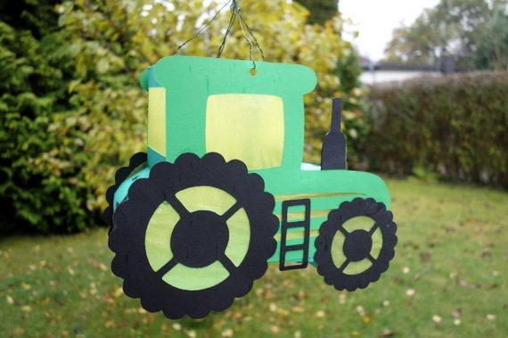 Mila Liebe Kinderkram Selbstgemachte Traktor Laterne