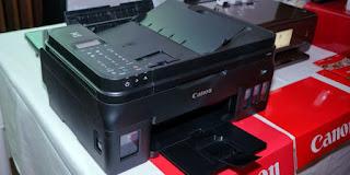 Canon Pixma G4000, Printer Isi Ulang
