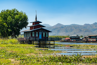 Paysage Lac Inle