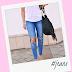 DIY: Potrhané džínsy