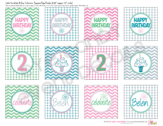 kids winter birthday, winter birthday, owls, snowflakes, chevron
