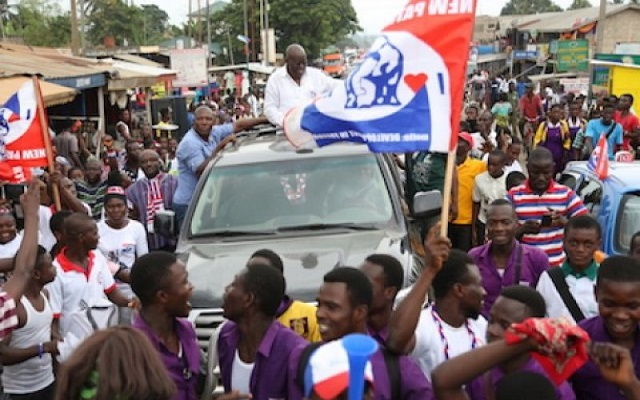 Nana Addo jabs NDC over insults