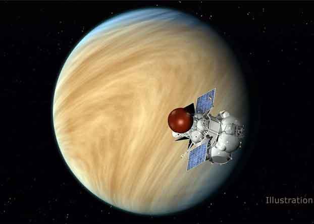 venus dan satelit venera