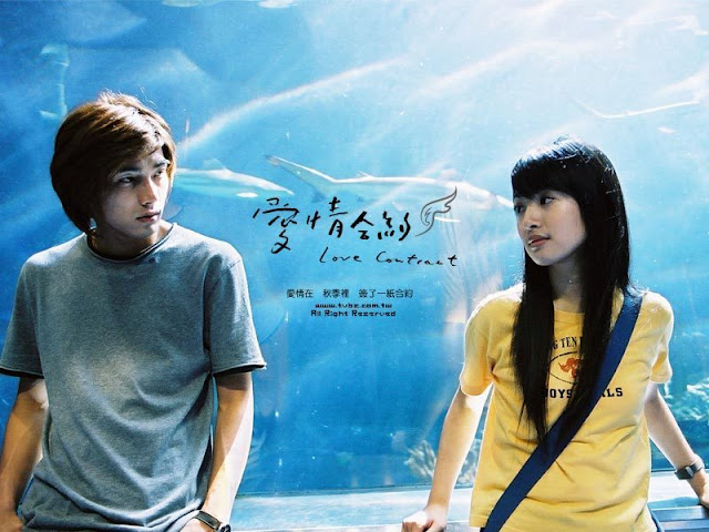 love contract ariel lin