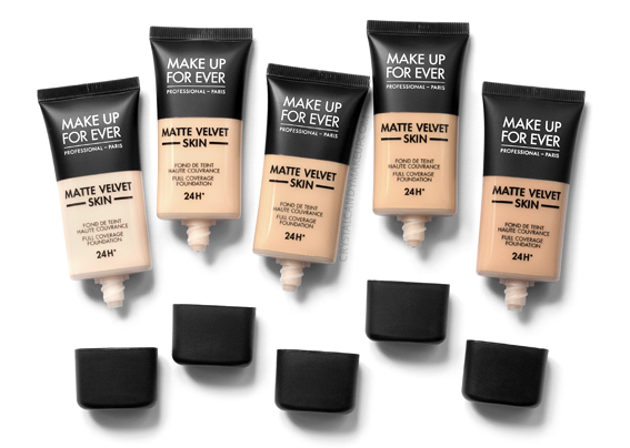 Make Up For Ever Matte Velvet Skin Full Coverage Foundation Review Photos MAC Equivalencies