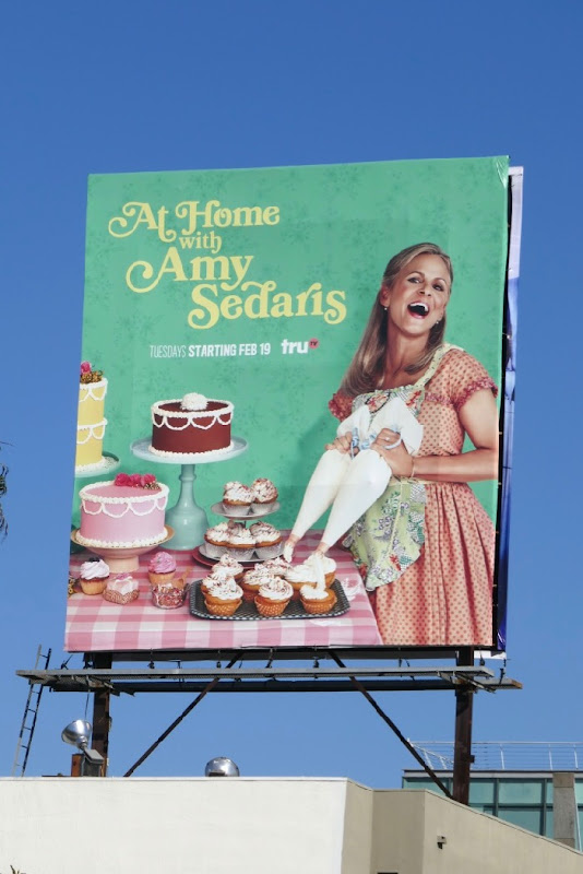 At Home with Amy Sedaris season 2 billboard