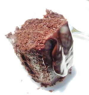 gorgeous chunk of chocolate cake