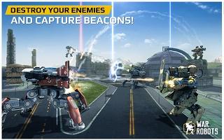 game bertema perang robot Android