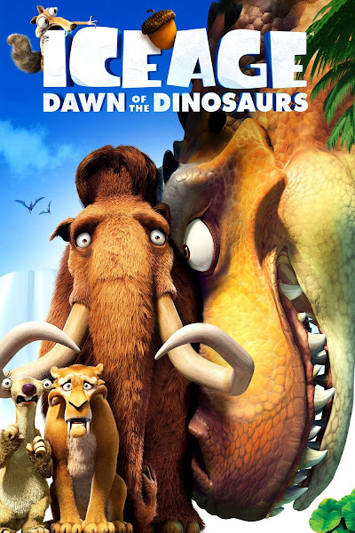 Poster of Ice Age 3 Dawn Of The Dinosaurs 2009 720p Hindi BRRip Dual Audio Download