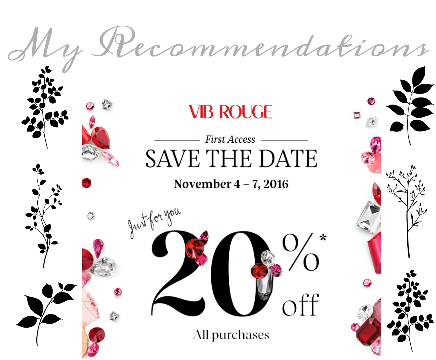 Sephora VIB Rouge Sale 2016