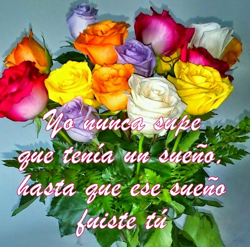 Fotos De Ramos De Flores Con Poemas De Amor