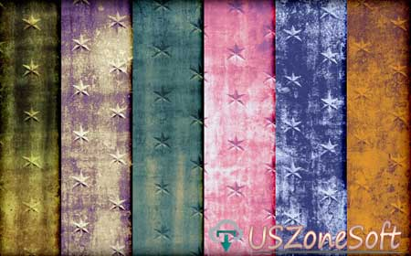 Grunge Star Photoshop Patterns Beautiful Stylish personal commercial business premium design .pat or .zip file free download
