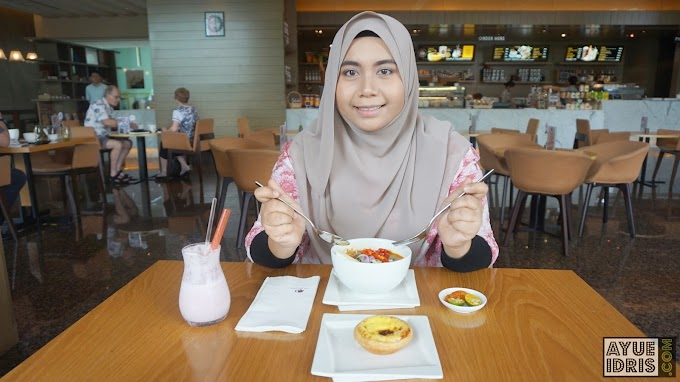 Lunch di The Food Store | DoubleTree by Hilton Hotel Johor Bahru