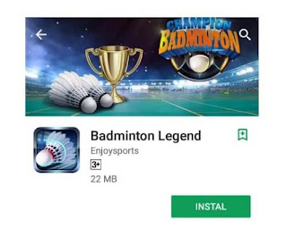 Badminton legend sport