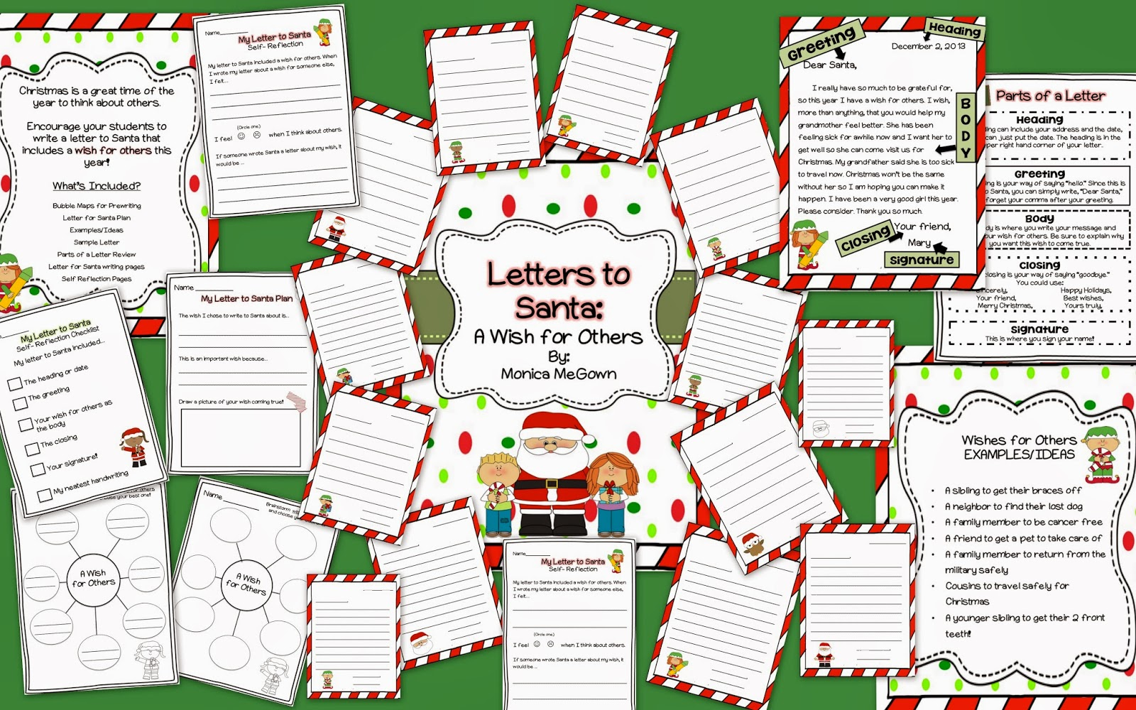 letters to santa lesson plans mrs megown s second grade safari dear santa a wish for 22075 | Letters to Santa