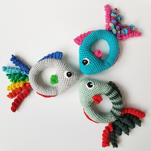 Fish Rattle - Free Pattern