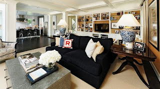 Muffle the noise on the design of living room