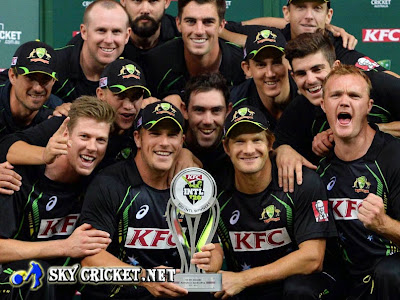 Australia wins t20 series 2-1 against South Africa