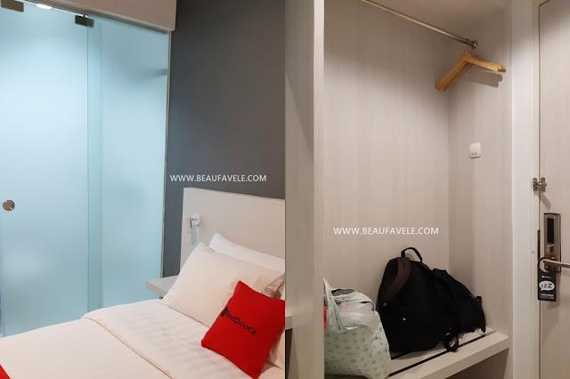 Fasilitas kamar di RedDoorz Semarang