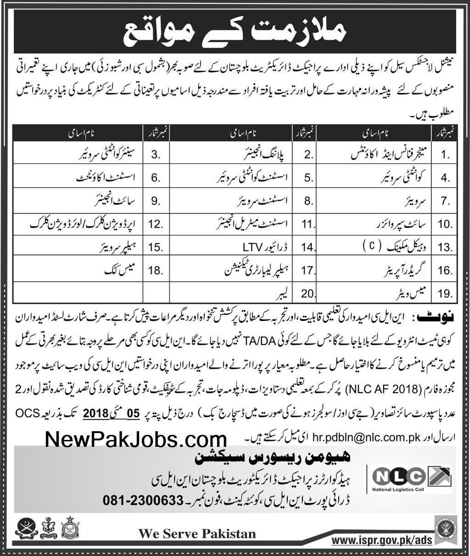 National Logistics Cell Balochistan