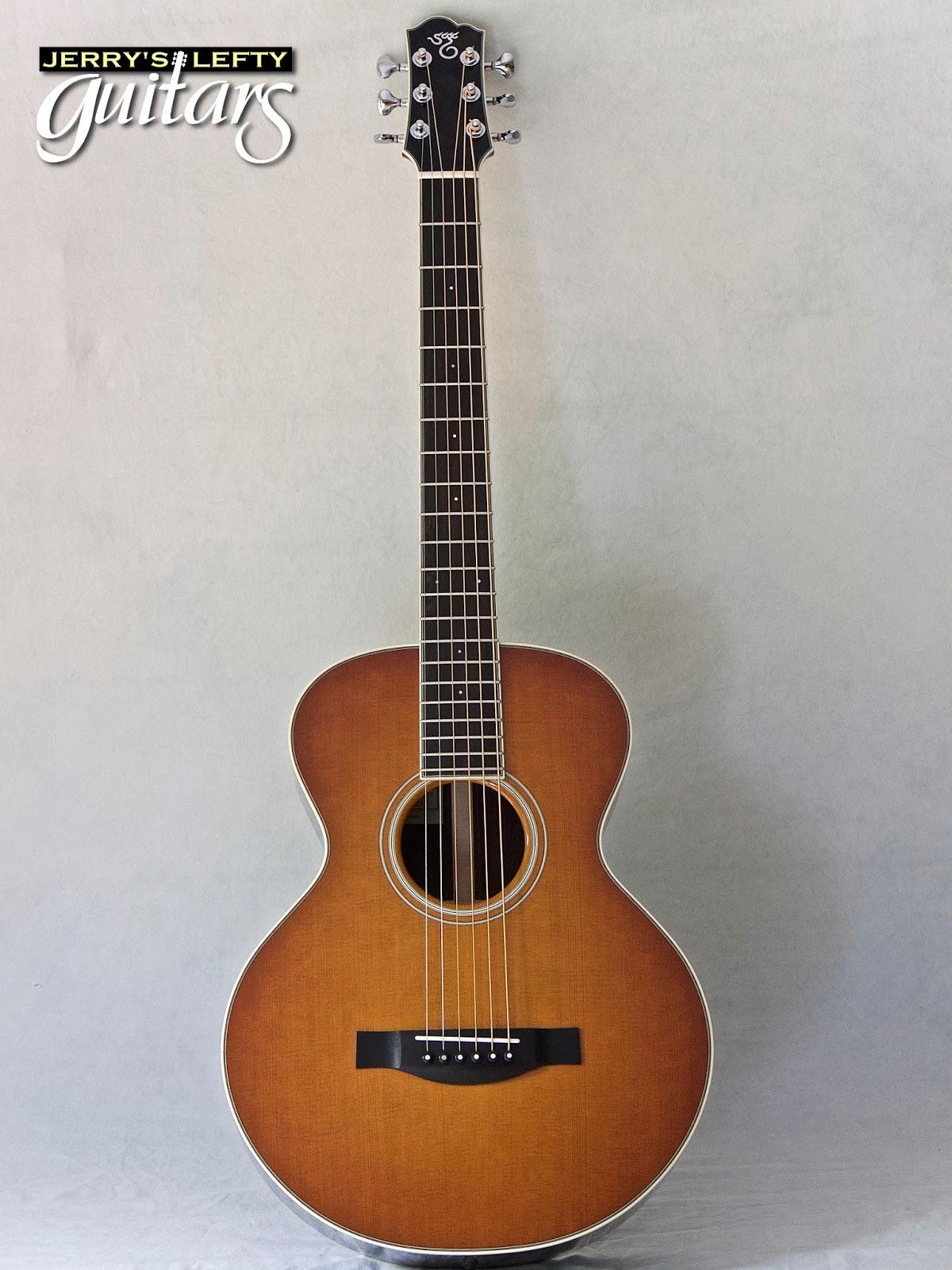 jerry 39 s lefty guitars newest guitar arrivals updated weekly santa cruz firefly left handed. Black Bedroom Furniture Sets. Home Design Ideas