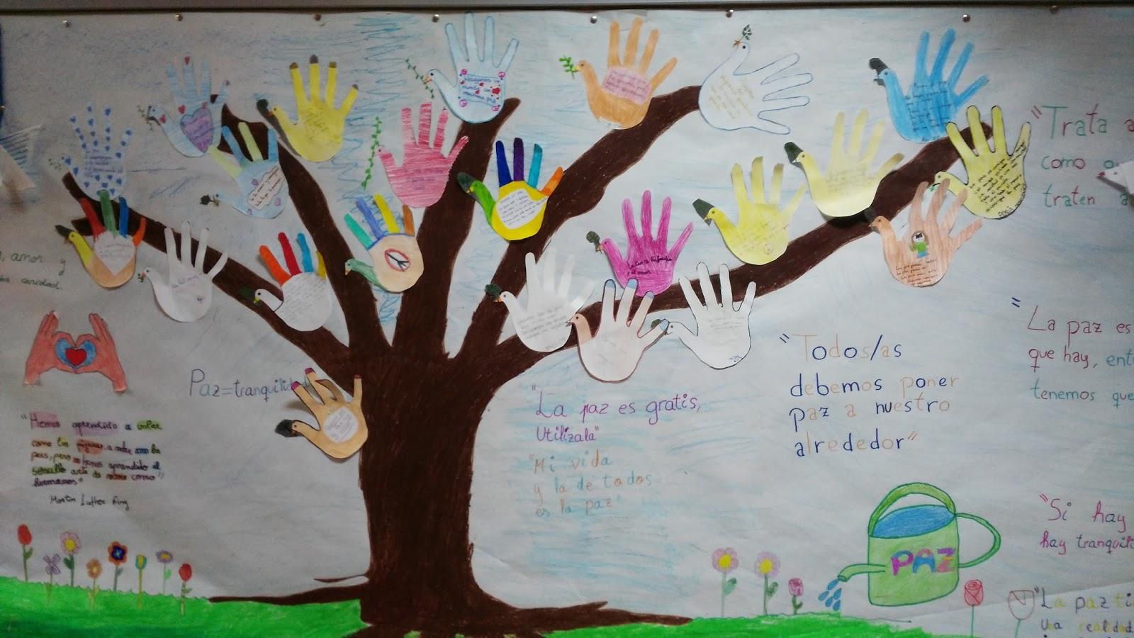 Rincón De Infantil Día De La Paz: CRECIENDO FELICES: TRABAJOS Y MANUALIDADES SOBRE LA PAZ