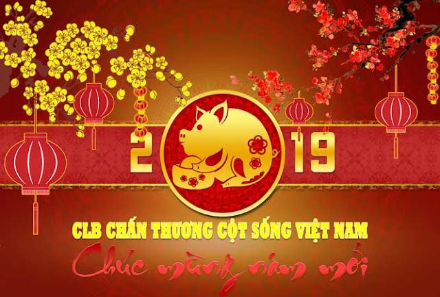 Lời chúc tết của chủ nhiệm CLB Chấn Thương Cột Sống Việt Nam Mừng Xuân Kỷ Hợi - 2019