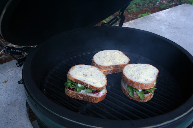 Beer Braised Short Ribs and Goat Cheese Beet and Arugula Sandwiches | The Lowcountry Lady
