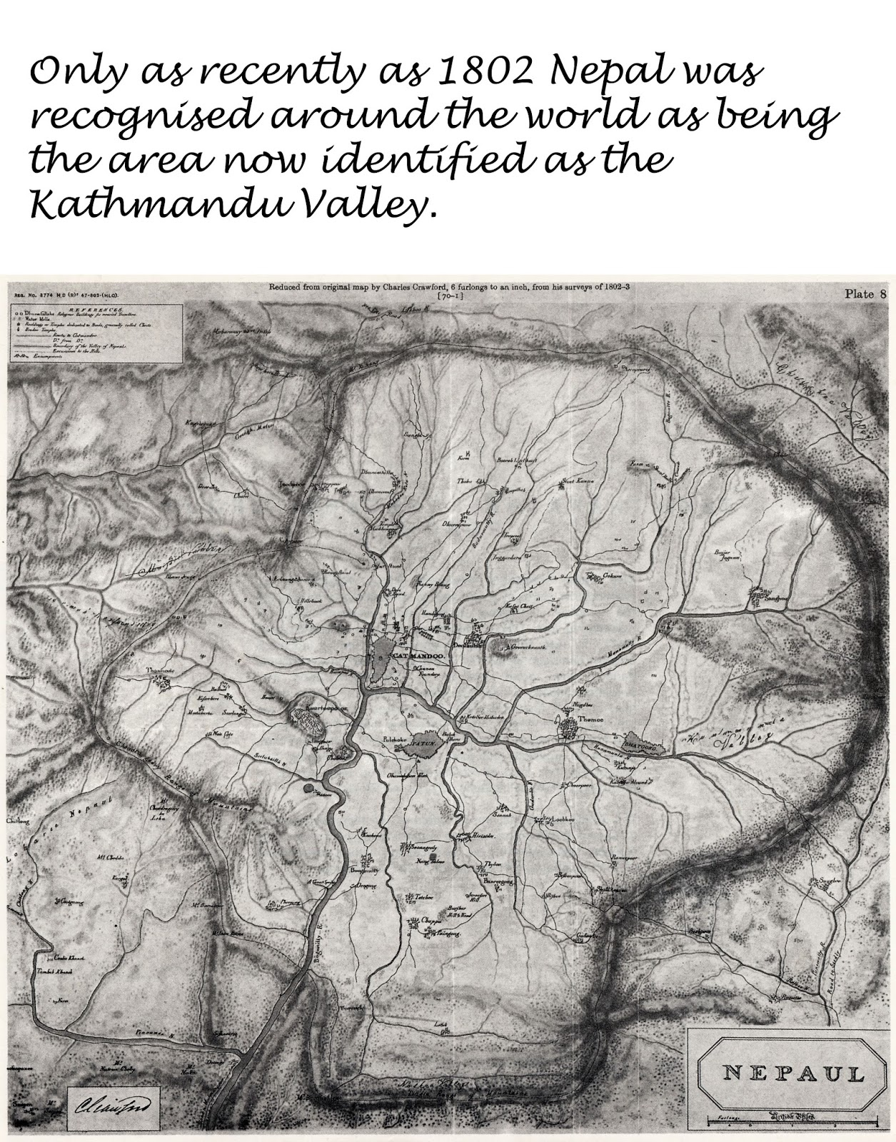 nepal as it was perceived pre 1700 the area on the kathmandu valley and its kingdom