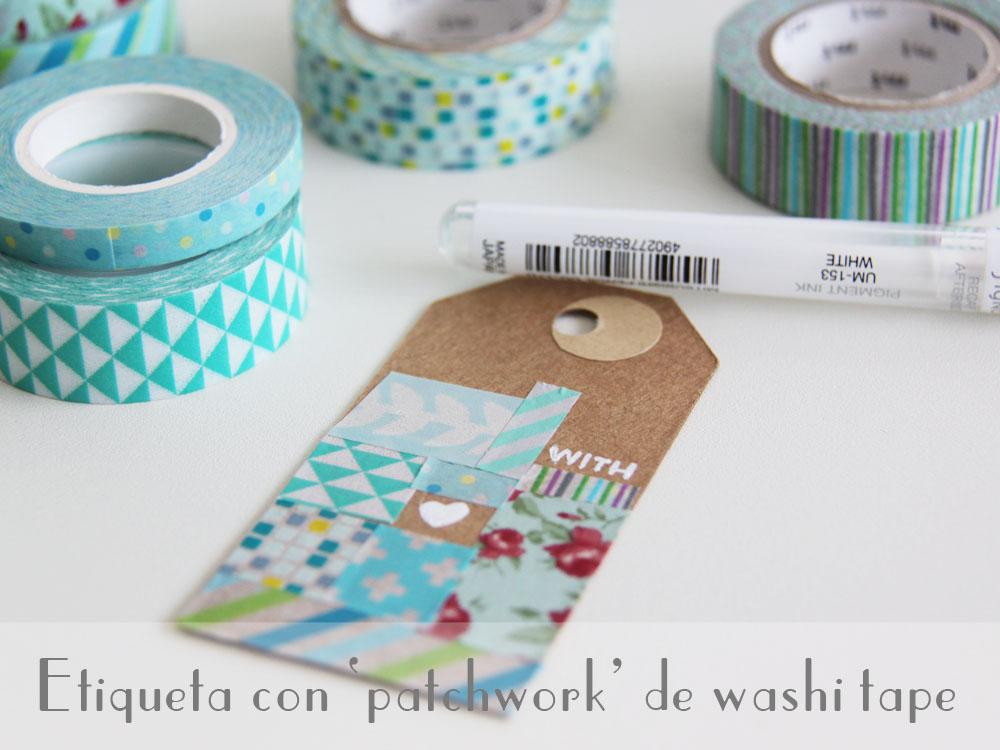 as que mientras llegan los das de vacaciones vamos con un diy con washi tape vamos a preparar una etiqueta con muchos modelos de wahi tape