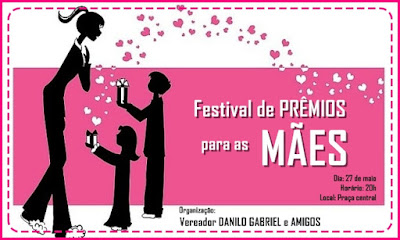 Festival de prêmios para as mães